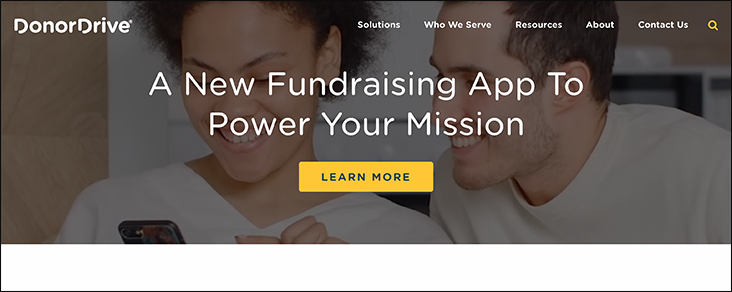 DonorDrive is one of our favorite online donation tools.